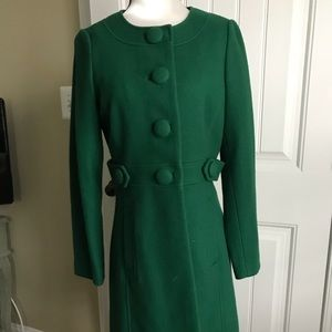 Banana Republic Evergreen winter dress coat size s